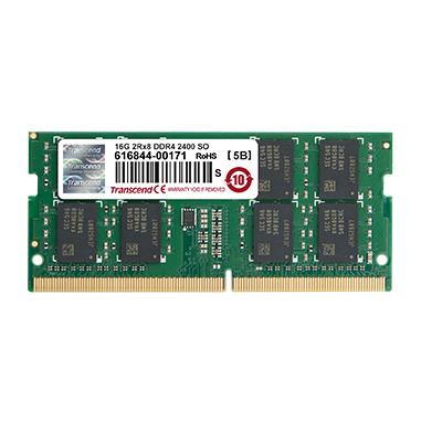 Transcend 16GB DDR4-2400 memoria 2400 MHz