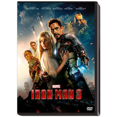 Iron Man 3 (2013), (DVD)