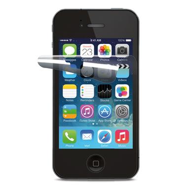 Cellularline Ok Display Invisible - iPhone 4S/4 Pellicola protettiva ultra trasparente e facile da applicare Trasparente