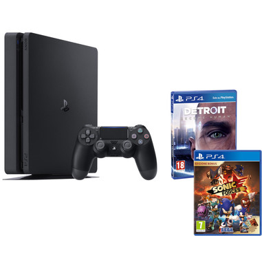 Sony Playstation 4 Slim 500GB E chassis Wi-Fi Nero