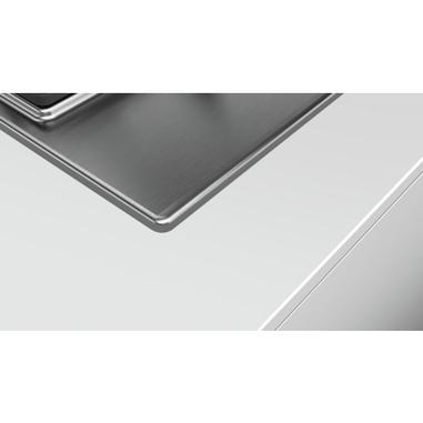 Bosch Serie 6 PCP6A5B90 Incasso Gas Nero, Acciaio inossidabile piano cottura