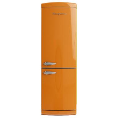 Bompani BOCB660/A Libera installazione 302L A+ Arancione frigorifero con congelatore