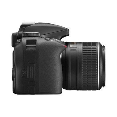 Nikon D3300 + AFP VR 18-55mm + VR 55-200mm + SD da 8 GB
