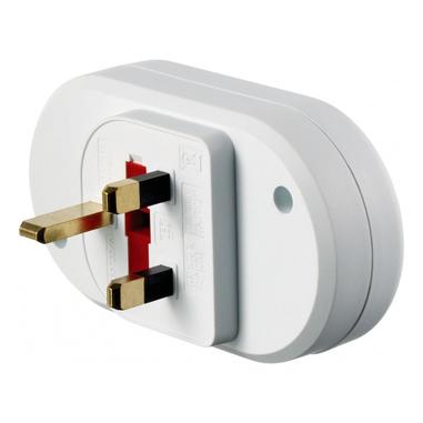 Go Travel UK Visitor Duo Tipo G (UK) Tipo K (DK) Bianco adattatore per presa di corrente