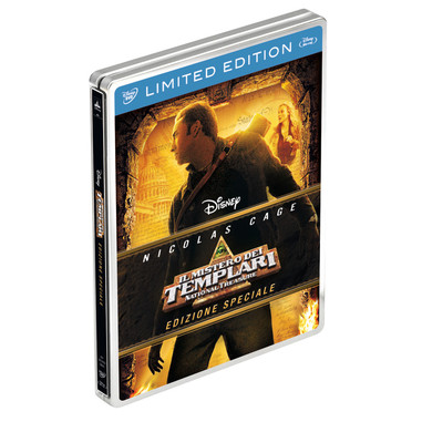 Il mistero dei templari (Blu-ray + DVD)