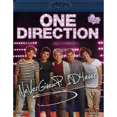 One Direction - Never Give Up: 1d4ever (2012), Blu-ray